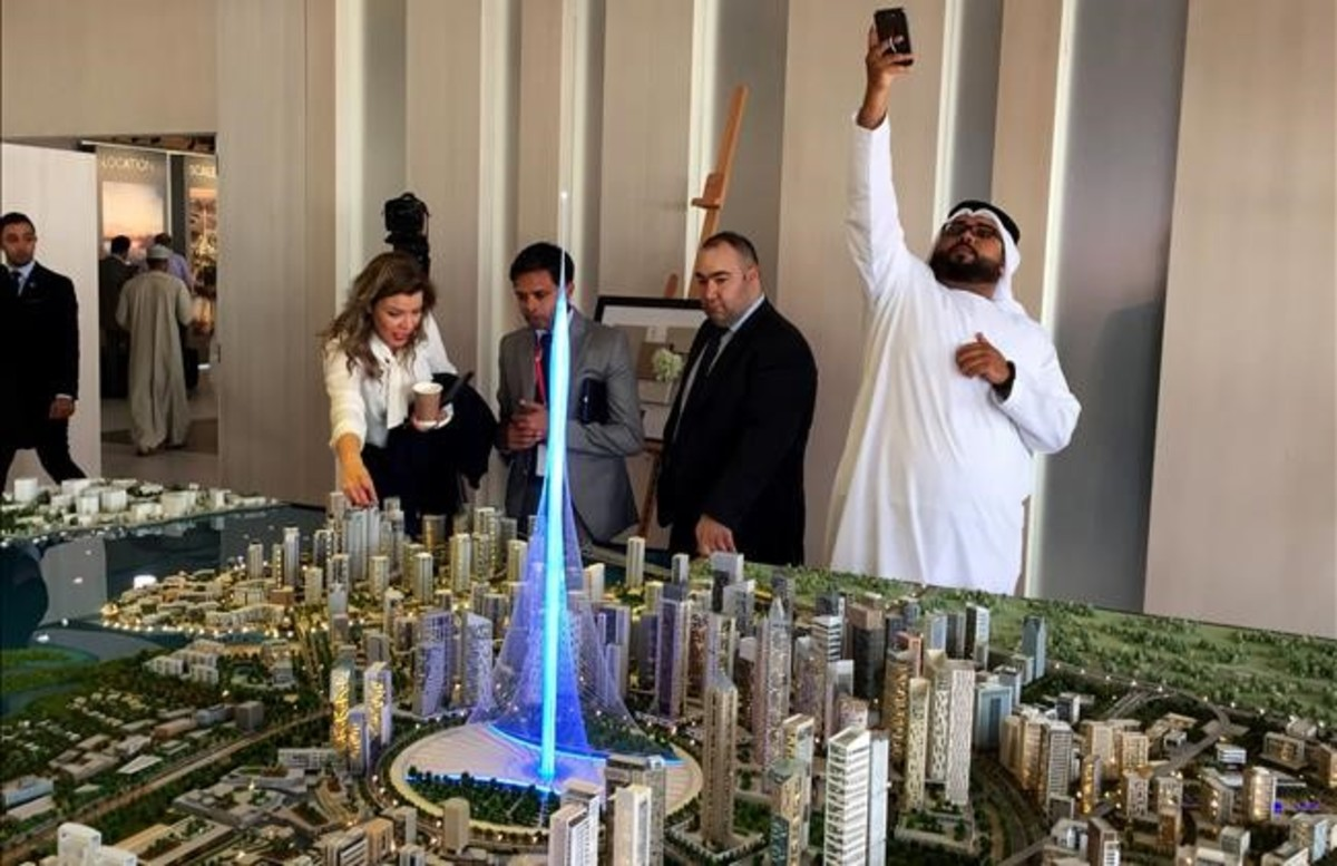 Calatrava Proyecta Levantar El Edificio Mas Alto Del Mundo En Dubai
