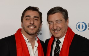 Jordi y Joan Roca, a su llegada a la gala de la revista Restaurant, este miércoles en Melbourne.