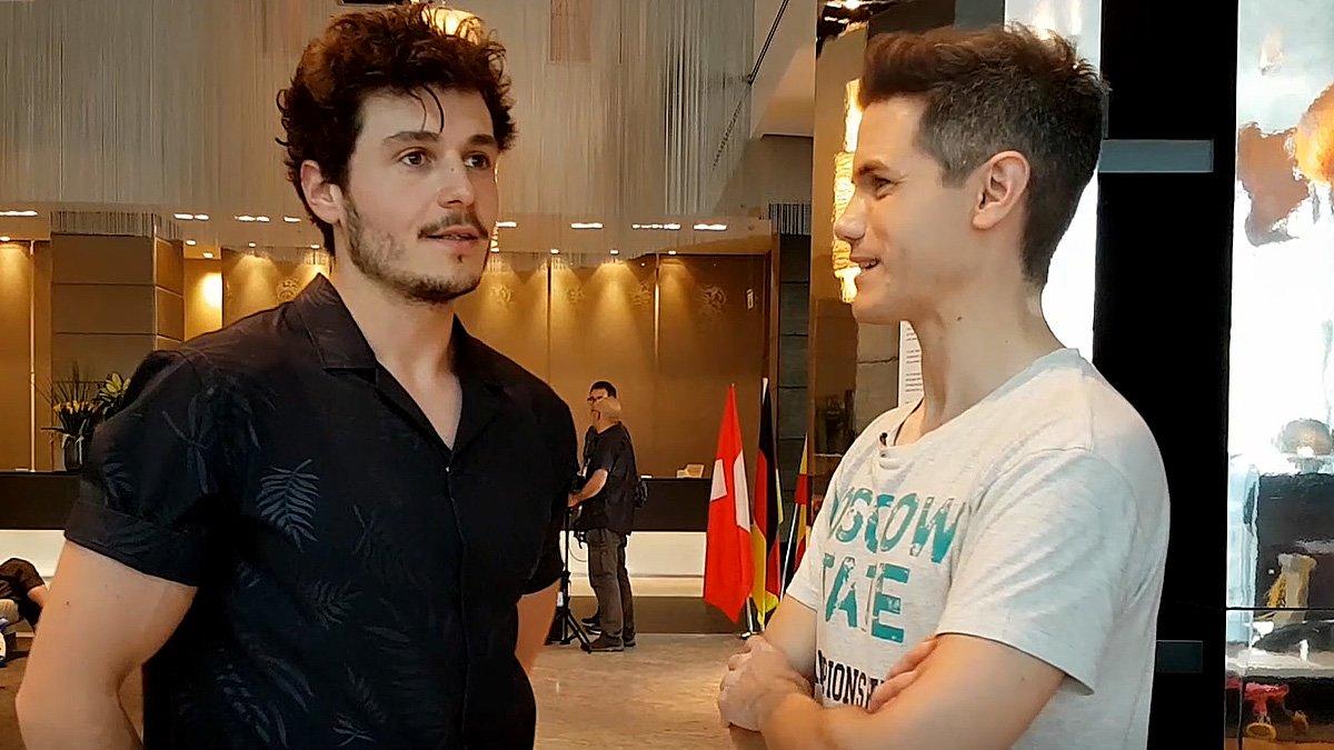 Hablamos con Miki a escasas horas de la final de Eurovisión y repasamos su semana en Israel