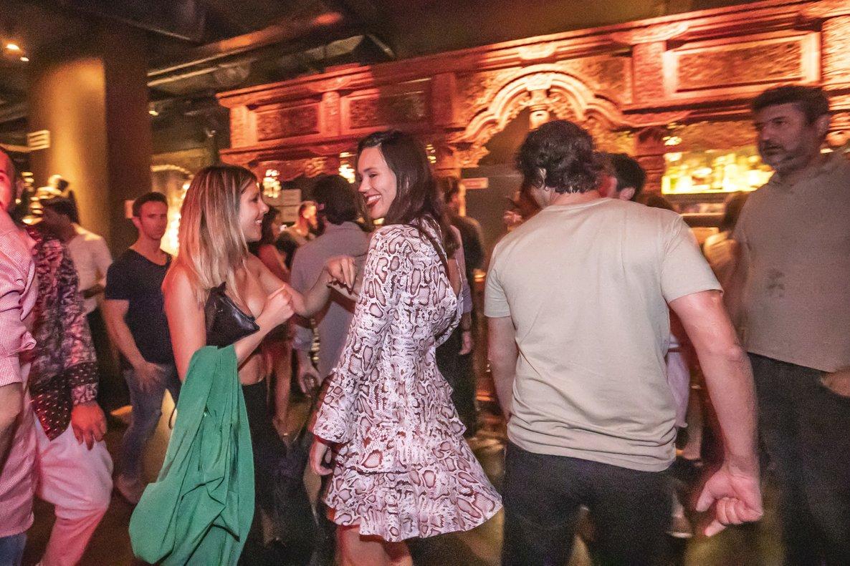 Ambiente animado en la discoteca Carpe Diem, el pasado 21 de junio.