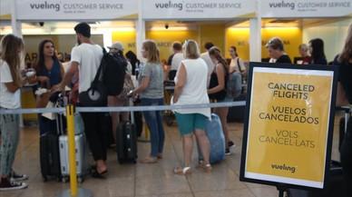 Las huelgas y los retrasos costaron a Vueling 20 millones en el segundo trimestre