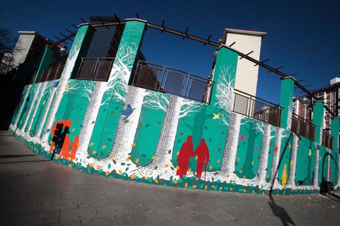Un recorregut per Cornellà a través de l'art urbà