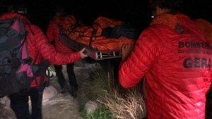 Un niño y un grupo de scouts son rescatados en La Pedriza.