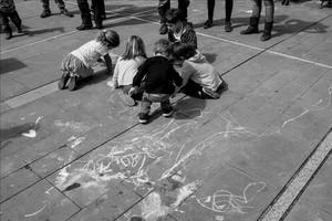 'Street art' en pandilla
