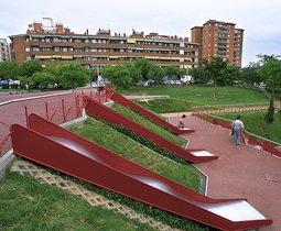 Parc de la Solidaritat de Esplugues, en una imagen de archivo