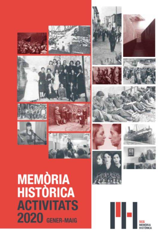 Cartel de memoria histórica de Santa Coloma.