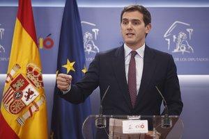 Declaraciones del líder de Ciudadanos, Albert Rivera, tras la convocatoria del Gobierno de elecciones generales para el 28 de abril de 2019