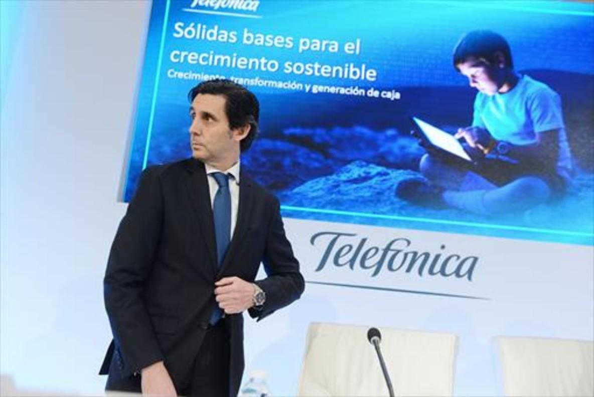 El presidente de Telefónica José María Álvarez-Pallete