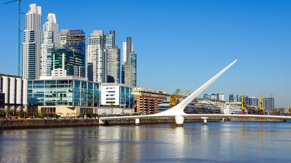 Puerto Madero, una zona en expansión en Buenos Aires (Argentina).