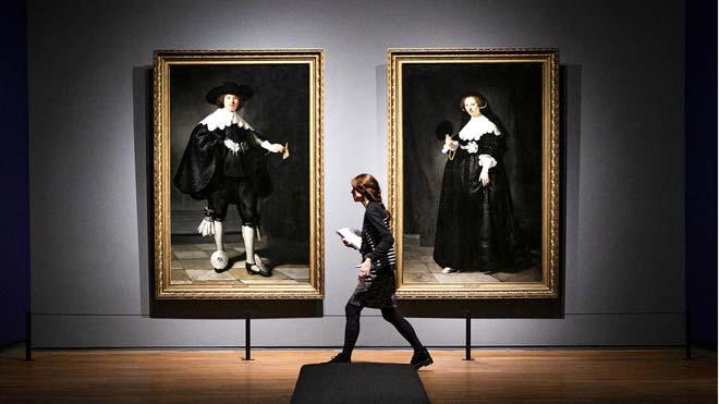 El Rijksmuseum exhibe por primera vez todos sus Rembrandts.