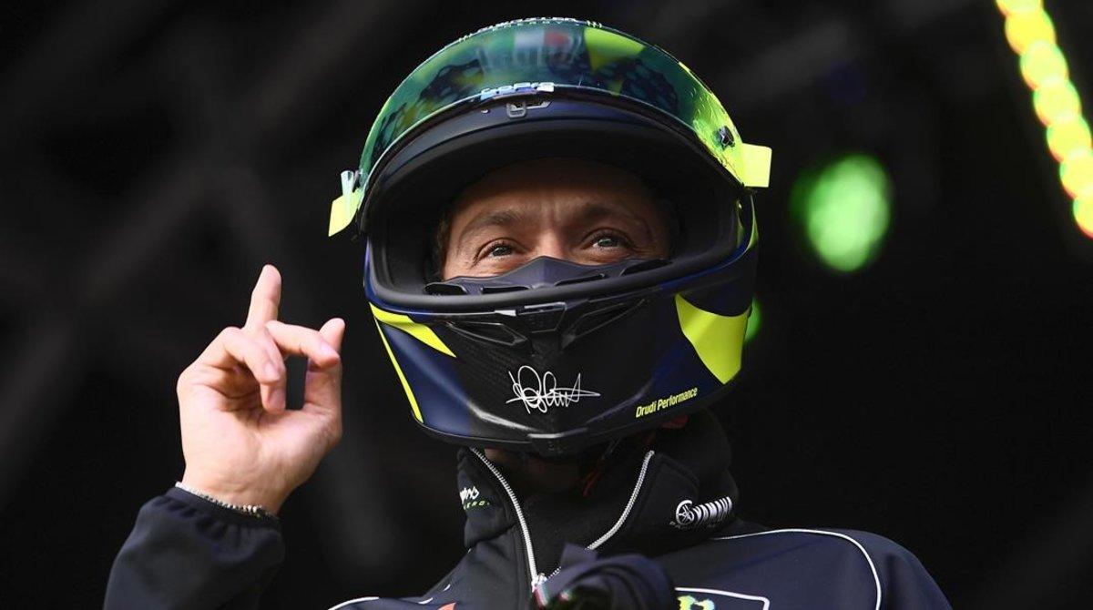 Paguen 7.100 euros per un casc de Rossi