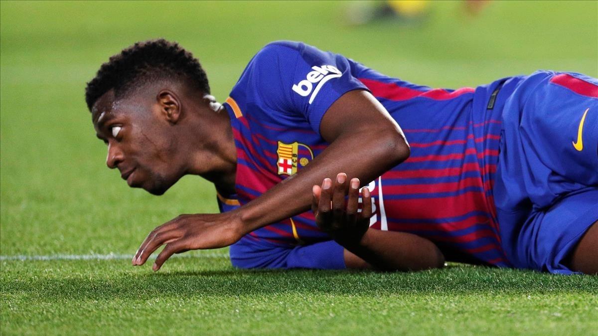 ¿Ousmane Dembelé dejará el Barcelona? Esto respondió el técnico del cuadro catalán