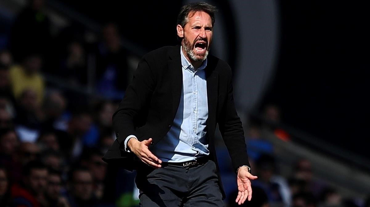 Vicente Moreno vol confirmar davant el Mallorca el seu bon inici en l'Espanyol