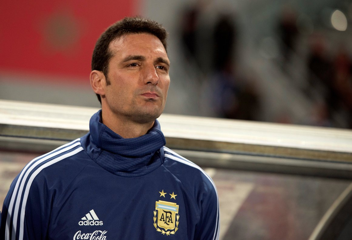 Lionel Scaloni, seleccionador de Argentina.