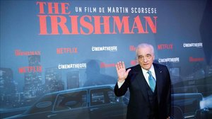 Scorsese, en el estreno de 'El irlandés' en París, el pasado 17 de octubre
