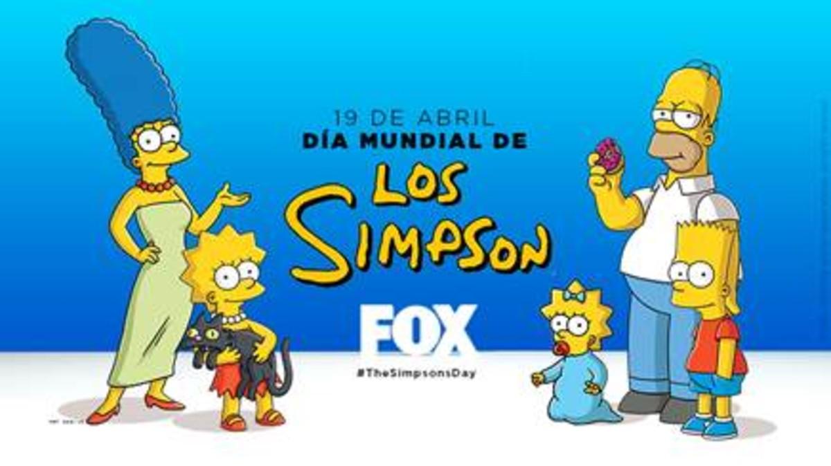 c415414e31af1 Imagen promocional de la serie Los Simpson en la cadena de pago Fox.
