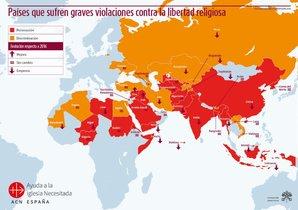 La situación de la libertad religiosa en el mundo.