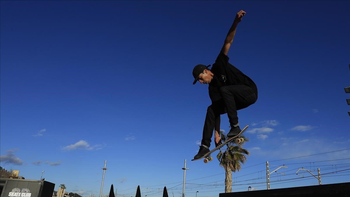 Skateboard en Barcelona.