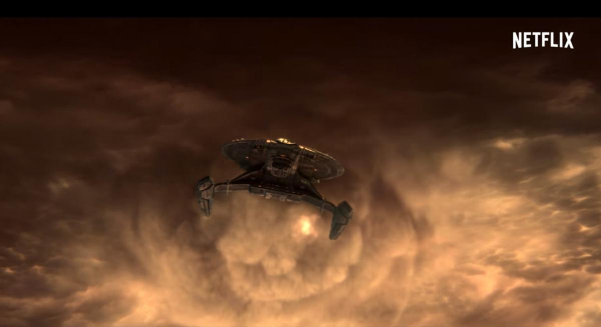 Imagen promocional de la nueva producción de Netflix sobre la serie Star Trek.