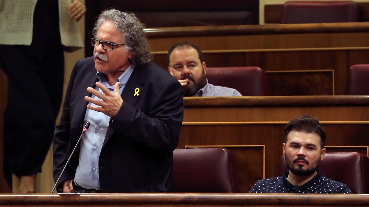 Tardà advierte a Sánchez que catalunya será su tumba política si no hay referéndum.