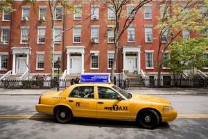 Un taxi en Nueva York.
