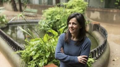 """Teresa Muñoz, escritora: """"En el Gòtic hay cosas chungas, pero también fantásticas"""""""