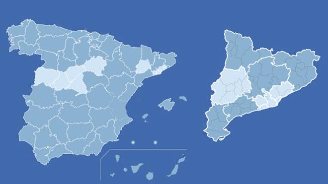 Toda España en fase 3 menos Madrid, Barcelona, Lleida y parte de Castilla y León.