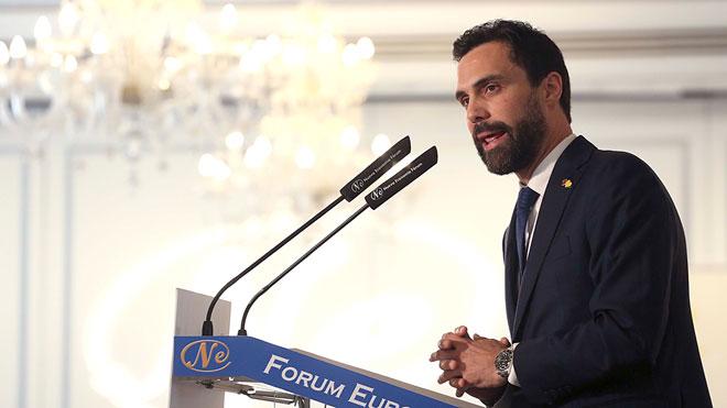 """Torrent propone desde Madrid un """"pacto de claridad"""" para la celebración de un referèndum""""."""