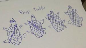 ¿Si dibuixes una tortuga a l'examen, t'apujo la nota¿
