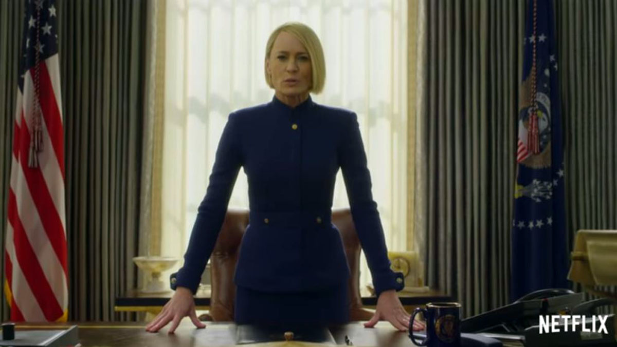 Tráiler de la temporada 6 de House of cards