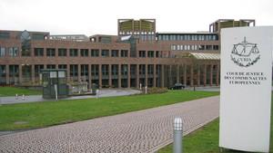 Vista de la sede del Tribunal de Justicia de la Unión Europea, en Luxemburgo.