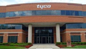 Imagen de archivo de los cuarteles generales de la empresa de complementos automóviles Tyco.