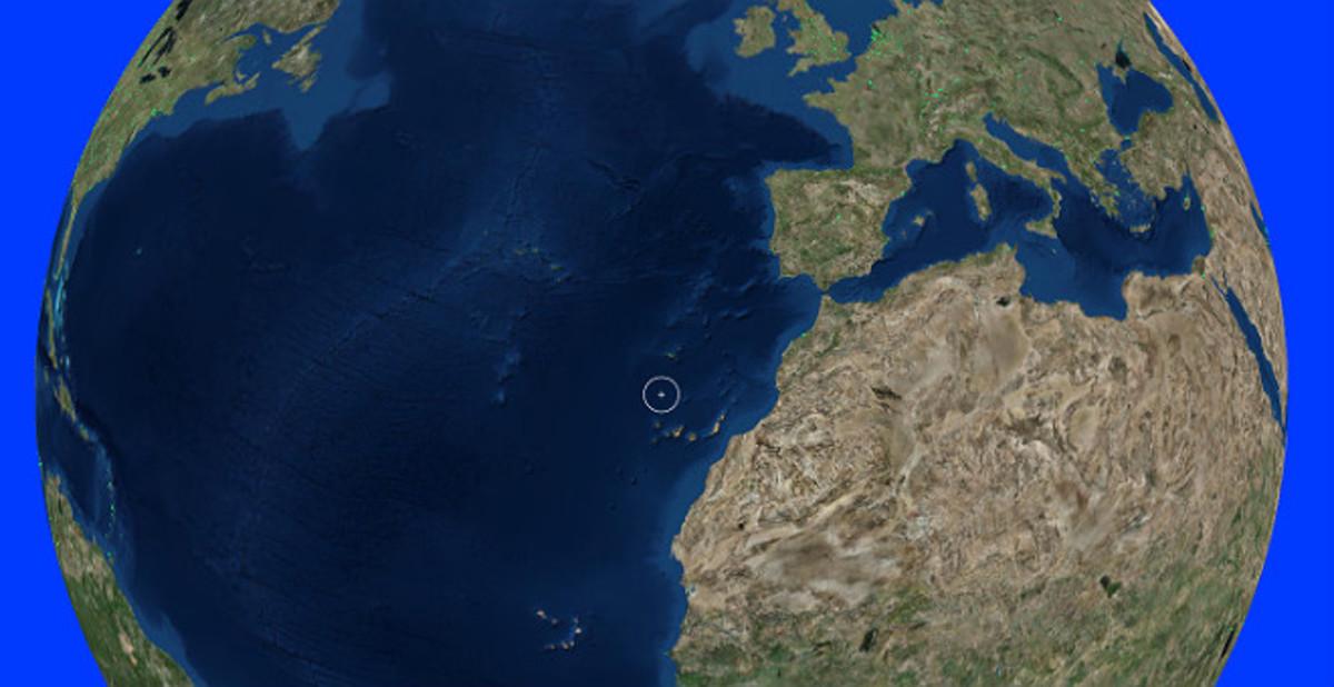 Una de las imágenes, tipo Google Earth, de la nueva web de radio en streaming planetaria.