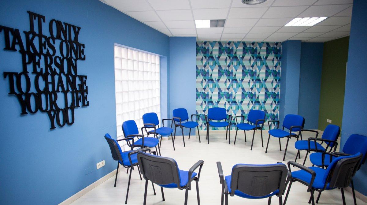 Uno de los centros Triora, especializado en el tratamiento de adicciones.