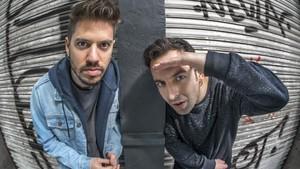 Víctor Martínez y Marc Riera, de Doctor Prats, fotografiados este miércoles en Barcelona