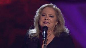 Una de las concursantes de La voz senior, de Antena 3.