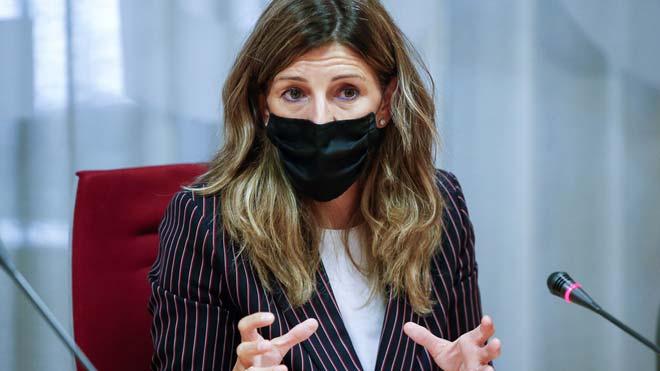Yolanda Díaz: En breves días tendremos un acuerdo sobre la prolongación de los ERTE.