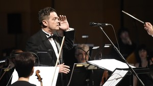 Santiago Auserón, sinfónico.