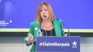 """Una dirigent de PDECat demana """"respecte"""" a la Crida de Puigdemont i descarta una fusió o absorció"""