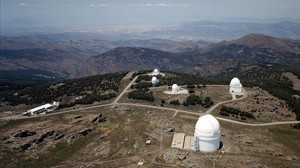 Observatorio de Calar Alto, al norte de la provincia de Almería.