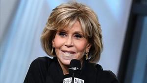 Jane Fonda el pasado lunes, 15 de enero, en el Build Studio deNueva York