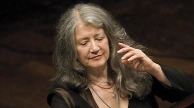 Martha Argerich brilla también en compañía
