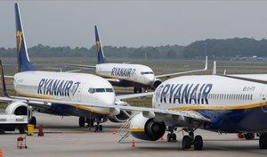 Ryanair formalitza l'inici de les negociacions de l'ERO, amb més de 500 acomiadaments