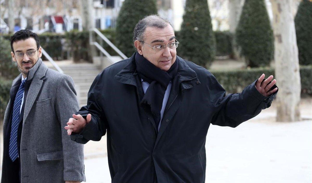 El jutge del cas Villarejo estudia si envia a la presó García Castaño