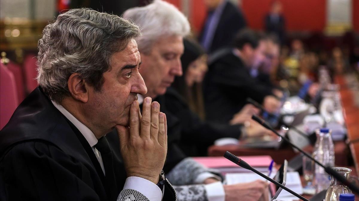 La fiscalía defiende su estrategia en el juicio del 'procés'