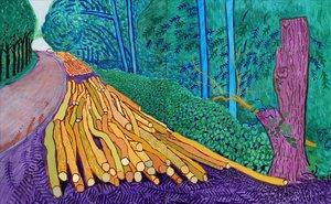 Van Gogh i Hockney: ¡Llum, color, paisatge!
