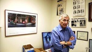 El periodista estadounidense Seymour Hersh, en su despacho.