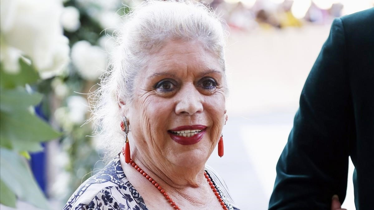 María Jiménez, cantante sevillana de 69 años.