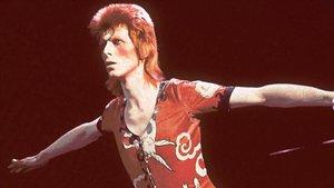 David Bowie, en su etapa Ziggy Stardust.