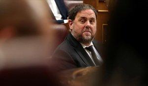 Junqueras intenta revocar a Europa el seu veto com a eurodiputat
